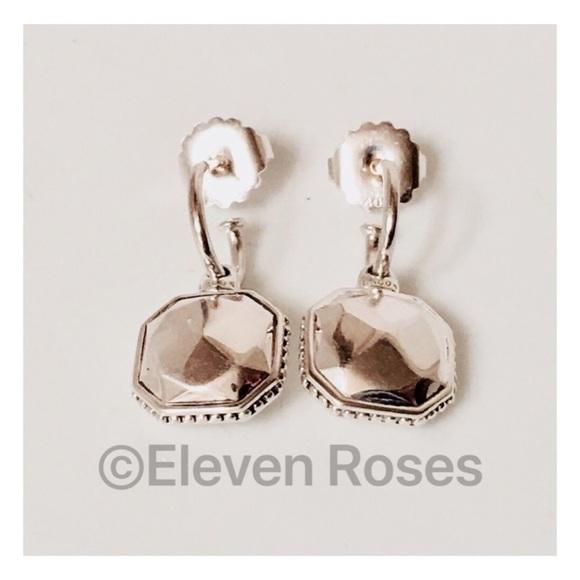 a24445f1e Lagos Jewelry | Caviar Sterling Rock Charm Hoop Earrings | Poshmark